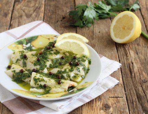 Filetti di merluzzo al limone e prezzemolo