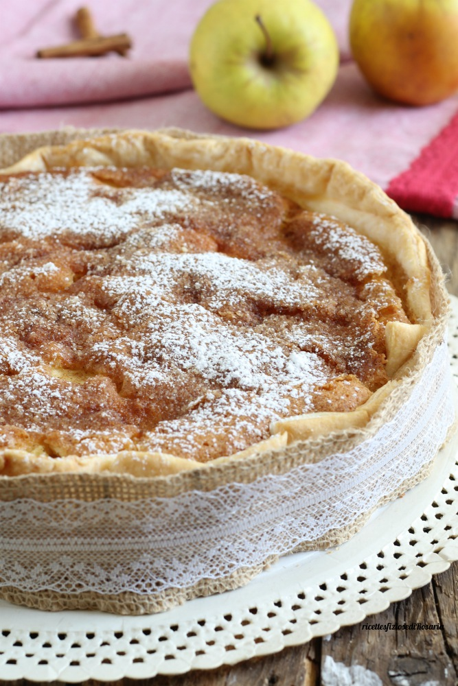 torta di mele in crosta