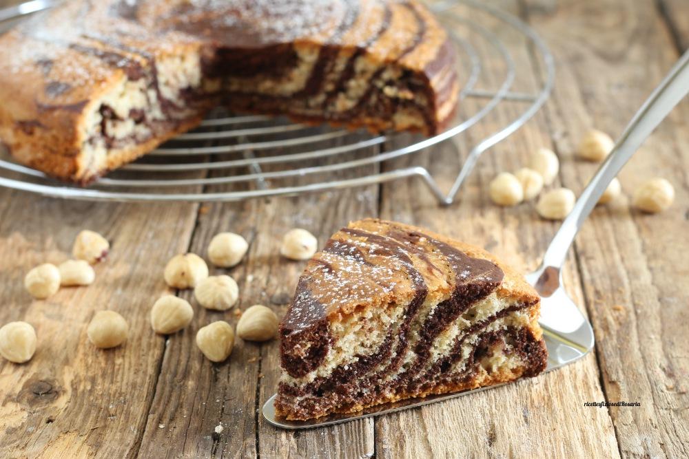 torta nocciole e cacao