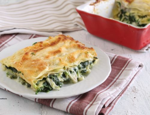 Lasagna con spinaci