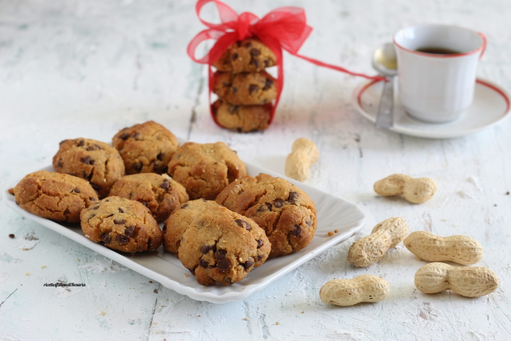 biscotti burro arachidi