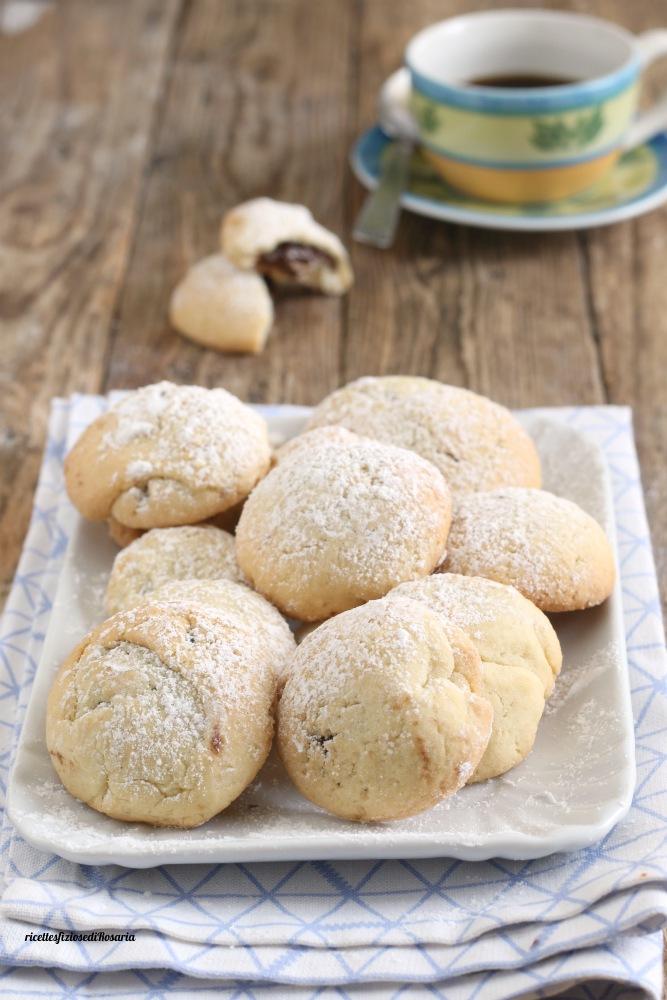biscotti con frolla alla panna