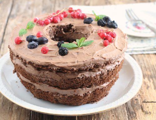 Naked chiffon cake al cioccolato