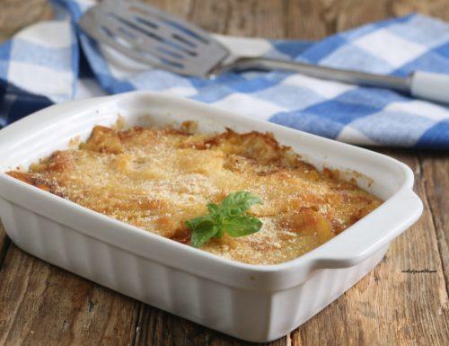 Sformato di patate e coste di bieta