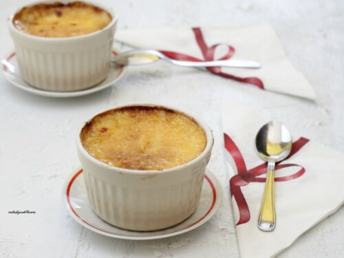 Crema catalana alla vaniglia