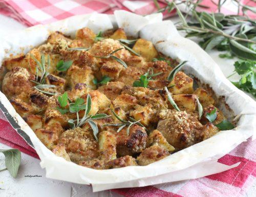 Teglia di cipolle e patate