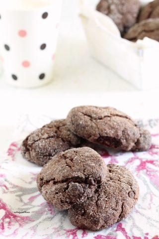 biscottoni al cacao senza uova