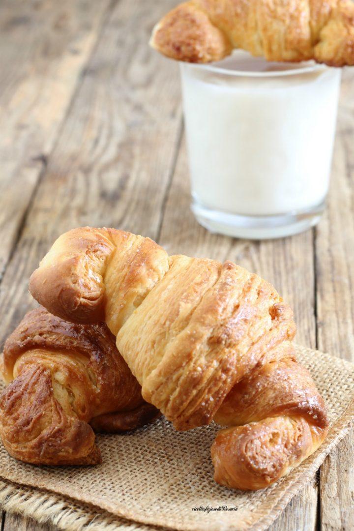 croissant sfogliati semplici