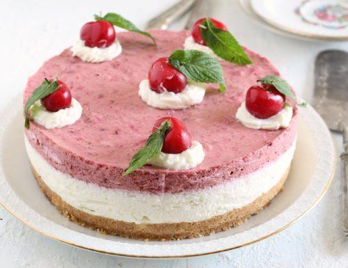 Cheesecake ricotta e ciliegie