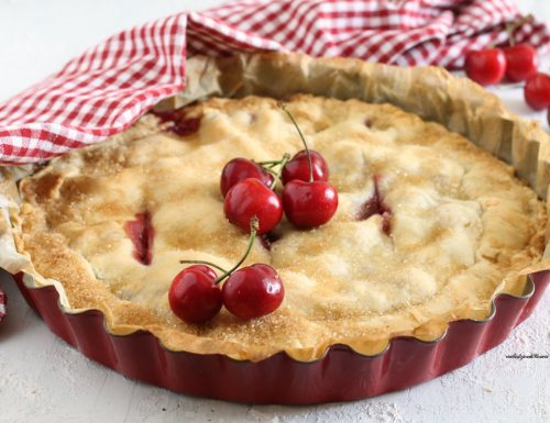 Crostata con ciliegie – cherry pie