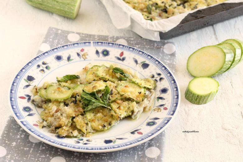 filetti di platessa in crosta di zucchine