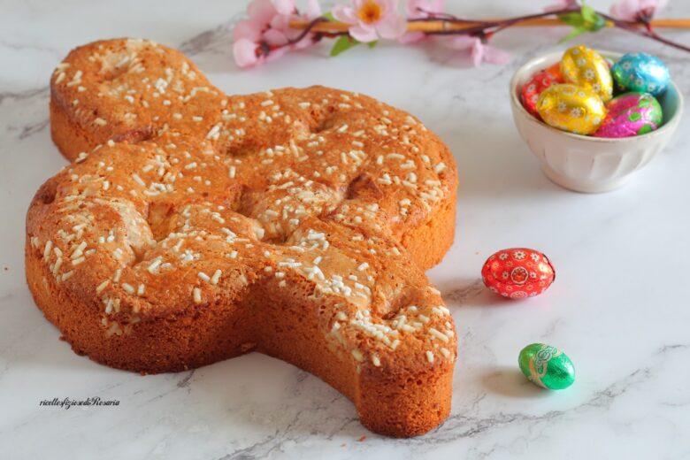 torta colomba con ovetti