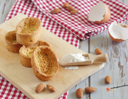 Pasta sable' alle mandorle