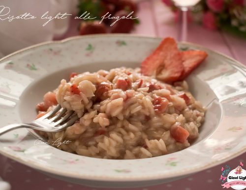 Risotto light alle fragole