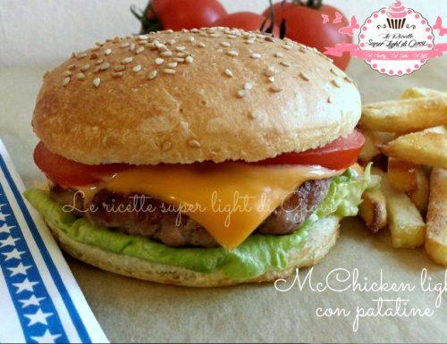 McChicken light fai da te – con patatine! (429 calorie)