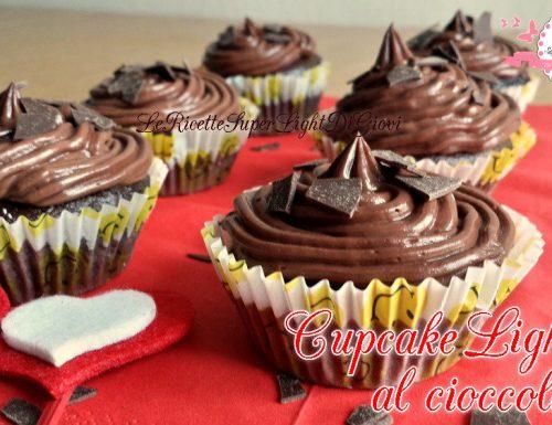 Cupcakes light al cioccolato