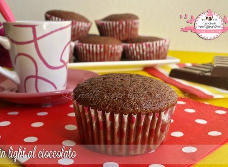 Muffin light al cioccolato (68 calorie l'uno)