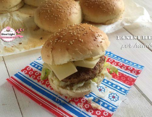 Panini healthy per hamburger