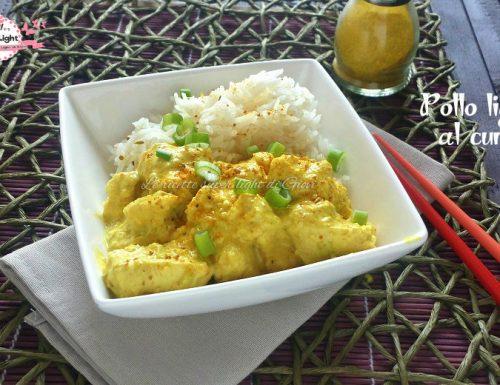 Pollo light al curry con riso basmati (435 calorie)