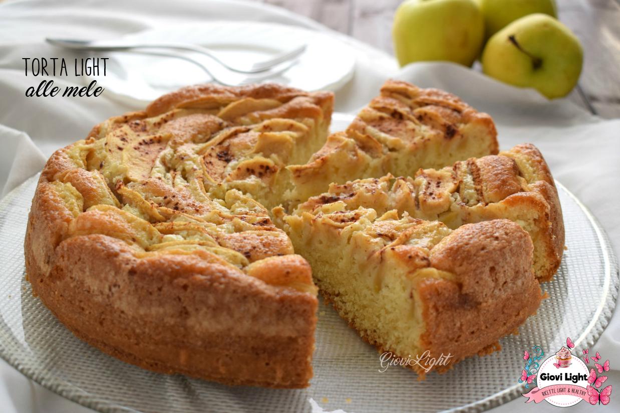 Torta light alle mele for Dolci dietetici