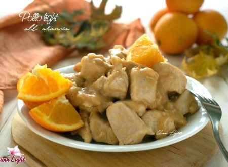 Pollo light all'arancia con il bimby e senza