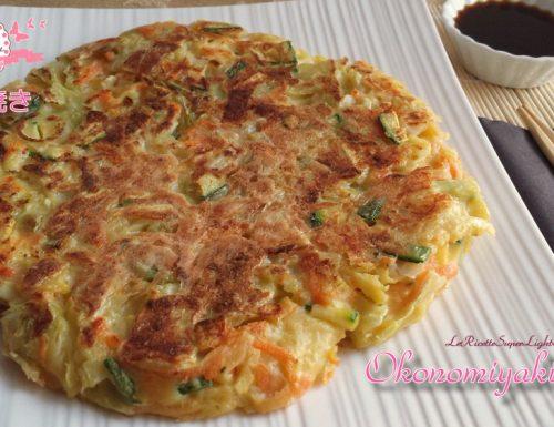 Okonomiyaki light – Frittata giapponese rivisitata e semplificata (243 calorie)