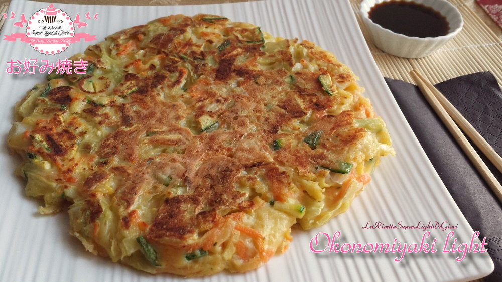 Okonomiyaki light - Frittata giapponese rivisitata e semplificata ...