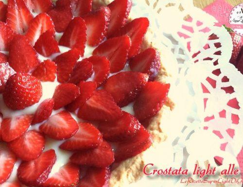 Crostata light alle fragole