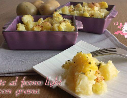Patate al forno light – con grana (290 calorie)