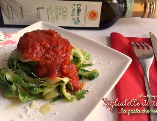 Tagliatelle di zucchine – la pasta che non è pasta