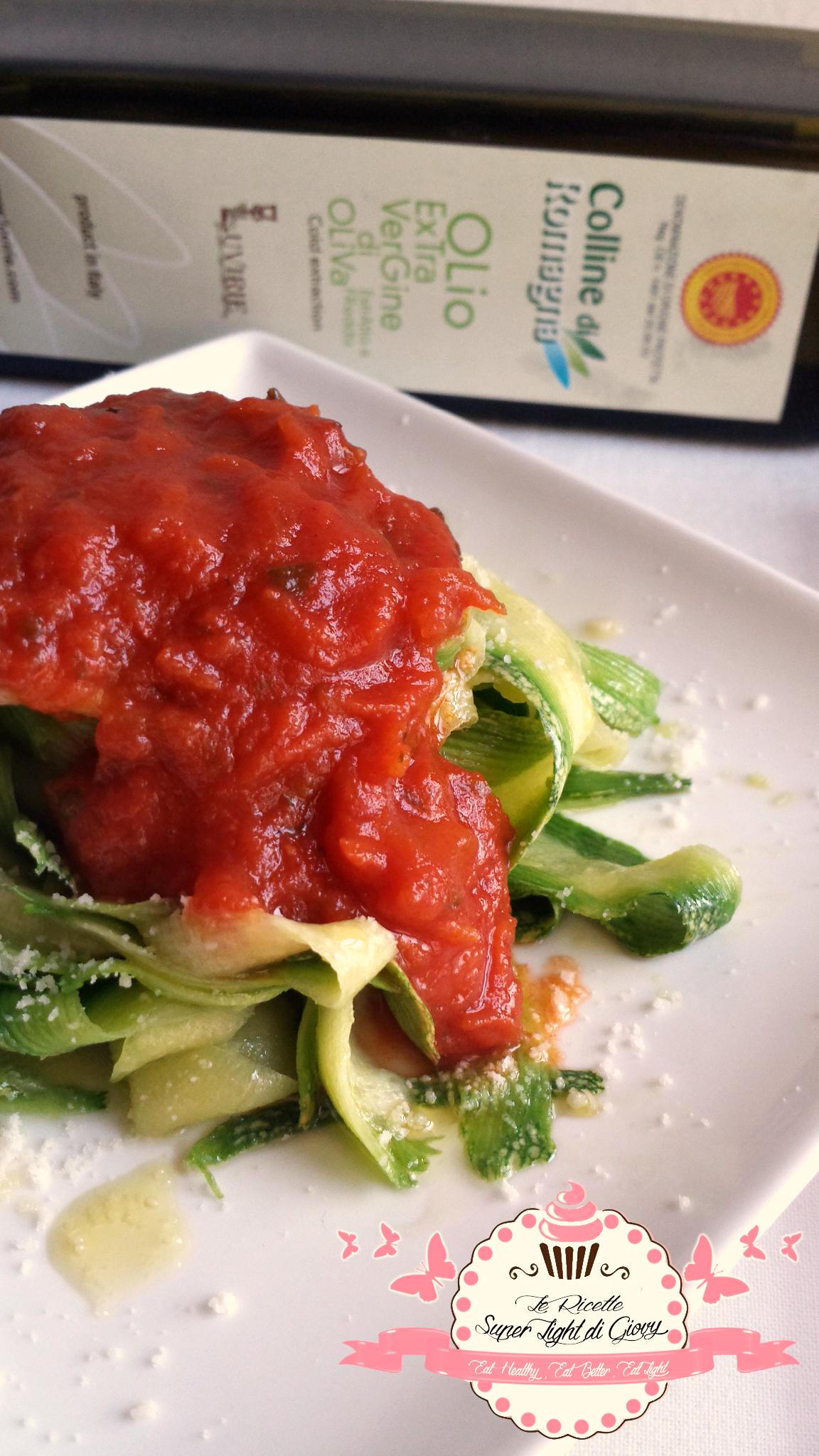 Tagliatelle di zucchine - la pasta che non è pasta