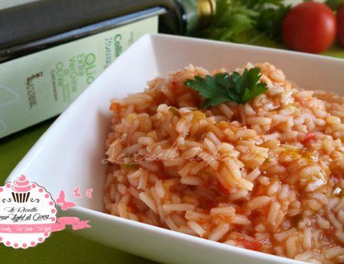 Risotto light al pomodoro (295 calorie)