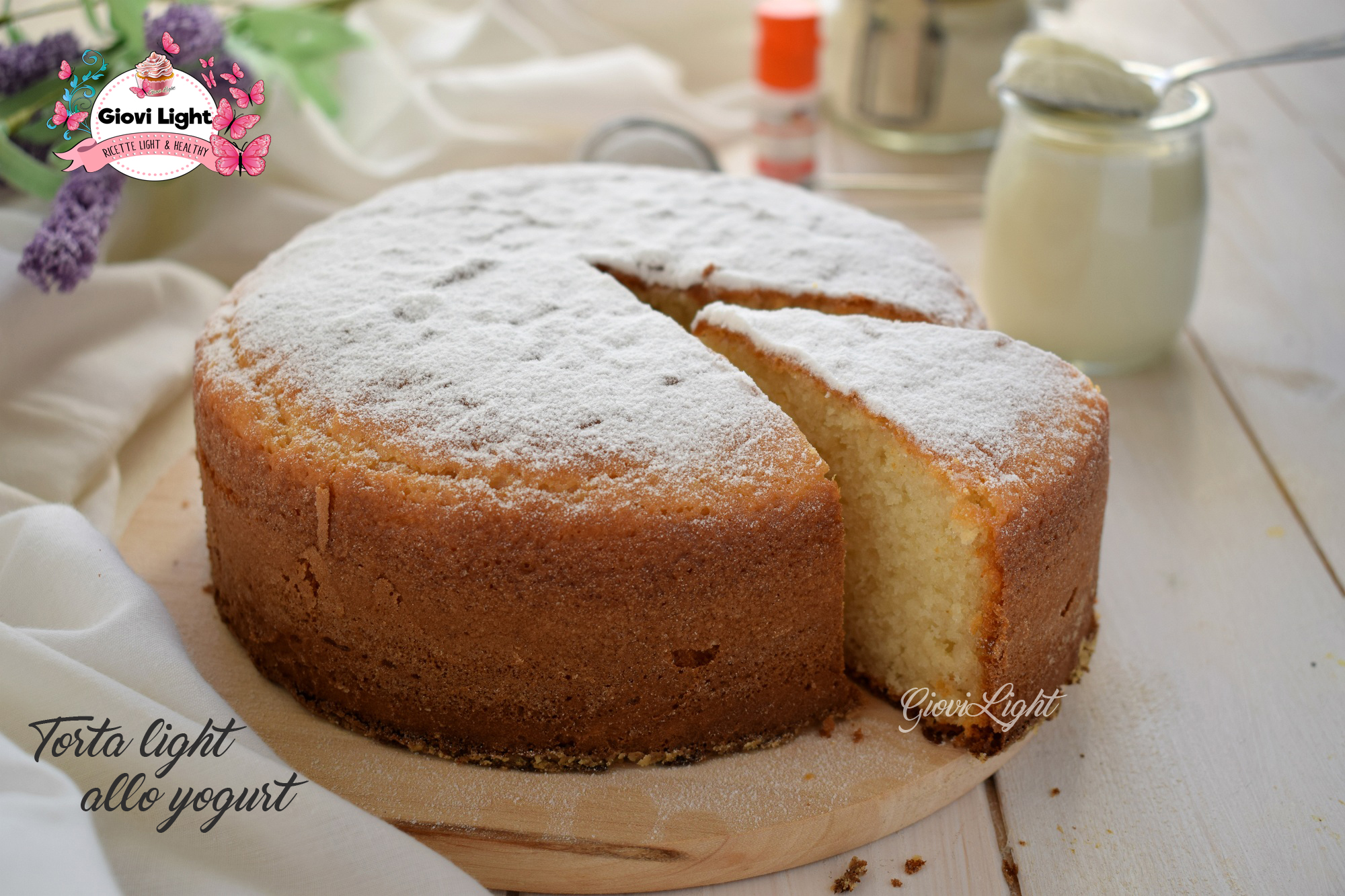 Torta light allo yogurt