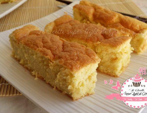 Ogura Cake – Torta giapponese in versione light (64 calorie a porzione)