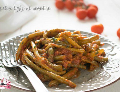 Fagiolini light al pomodoro