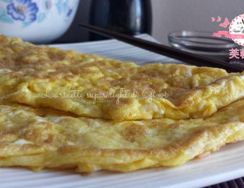 Omelette light con germogli di soia (216 calorie)
