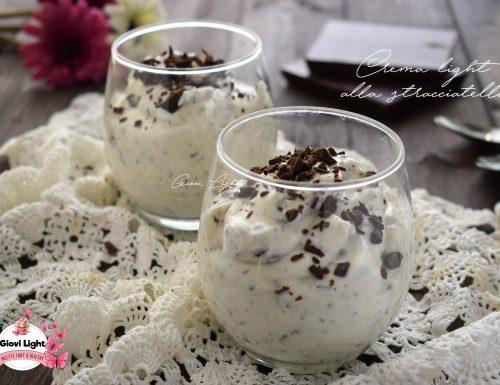 Dessert FitLight alla stracciatella