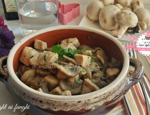 Pollo light ai funghi (266 calorie)
