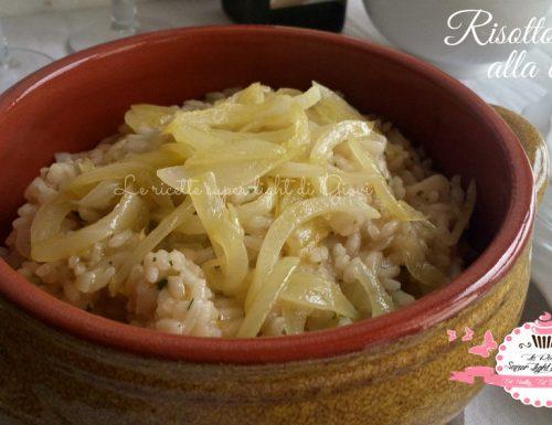 Risotto alla cipolla – ricetta facile (290 calorie)