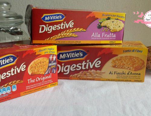 Nuova collaborazione con l'azienda McVitie's!