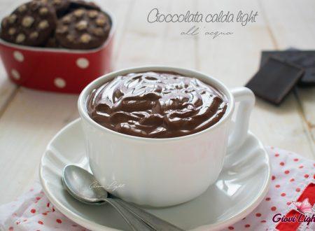 Cioccolata calda light all'acqua