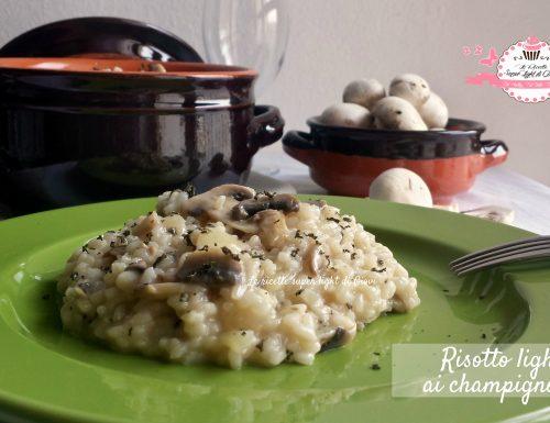 Risotto light ai champignons (354 calorie)