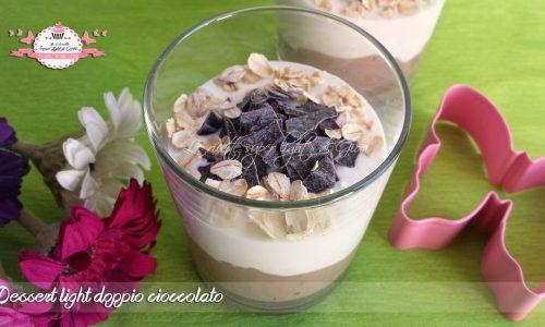 Dessert light doppio cioccolato (215 calorie)