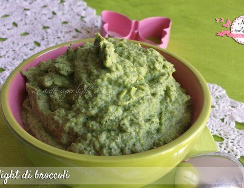 Crema light di broccoli (145 calorie)