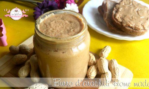 Burro d'arachidi Home made