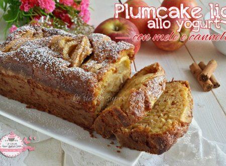 Plumcake light allo yogurt con mele e cannella