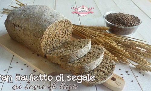 Pan bauletto di segale ai semi di lino