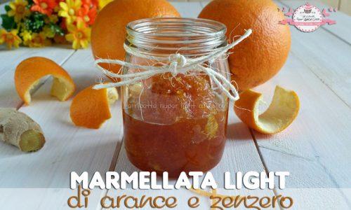 Marmellata light di arance e zenzero