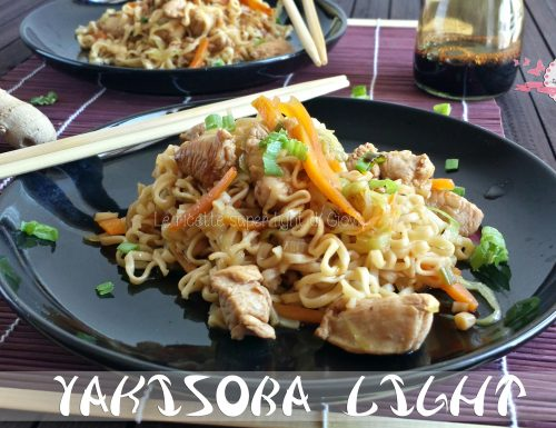 Yakisoba light di pollo
