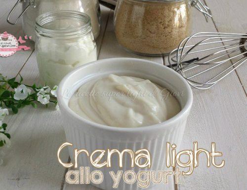 Crema light allo yogurt